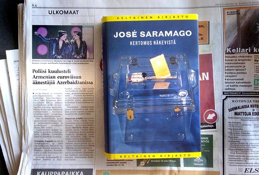 Saramago ja uutisia euroviisuista.