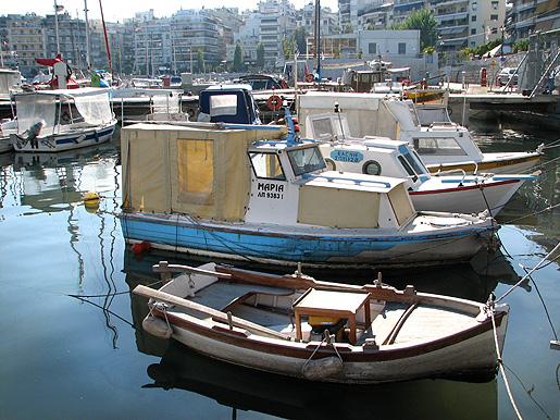 Pireuksen pienin vene 26.11.09