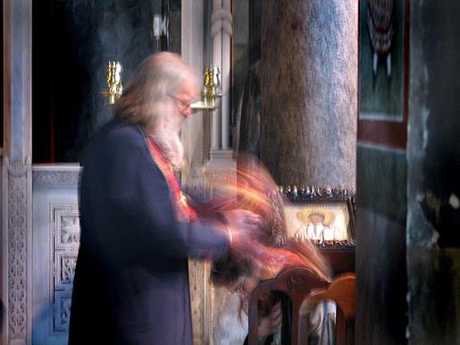 Rippi ja Pyhä Isä, Ateena 9.12.09