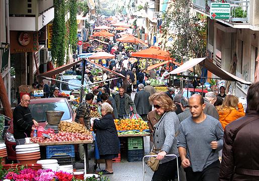 Paparigopoulous -katu, Ateena 2.12.09