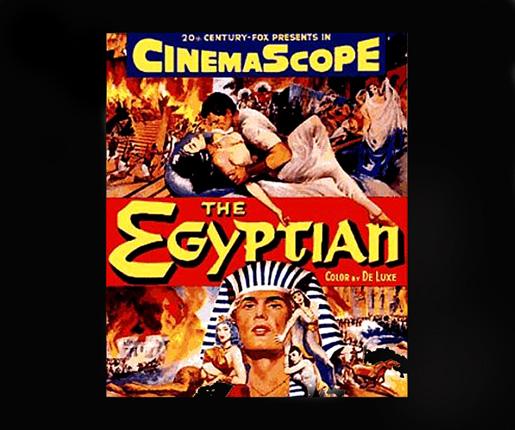 The Egyptian, osa elokuvajulisteesta.