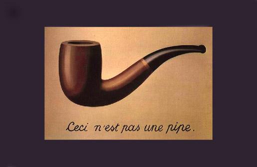 Réne Margitte: Ceci n´est pas une pipe