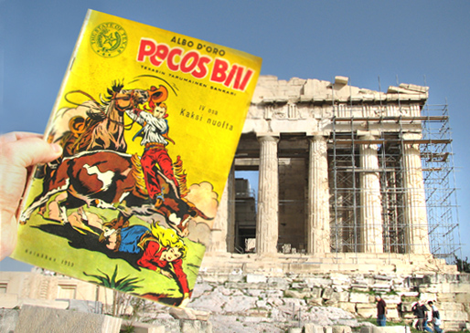 Parthenon ja Pecoss Bill 10.11.10