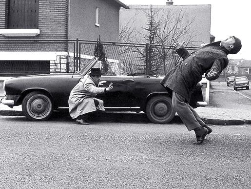 Jean-Luc Godard: Laittomat (alkuperäinen pressikuva)