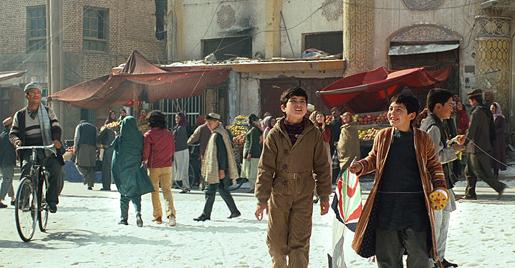 1970-luvun Kabul. Elokuvasta Leijapoika, 2007