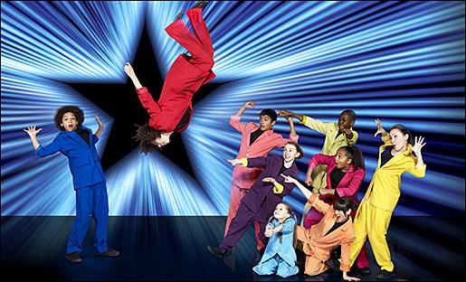 Jukebox Junior -tanssiryhmä. Kuva: Sky