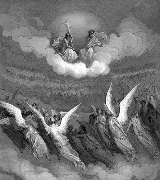 Kuva: Gustave Doré, Kadotettu paratiisi.