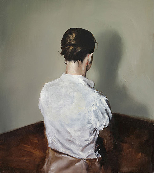 Michaël Borremans: Automat I, 2008.