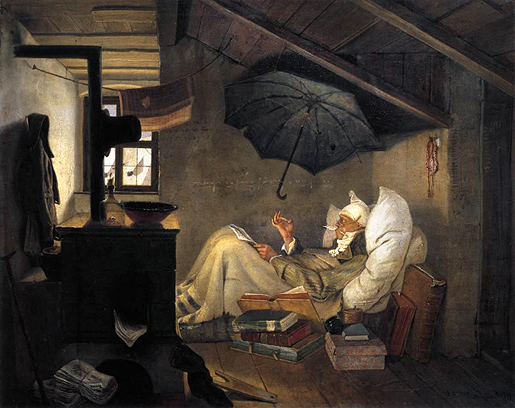 Carl Spitzweg: The Poor Poet