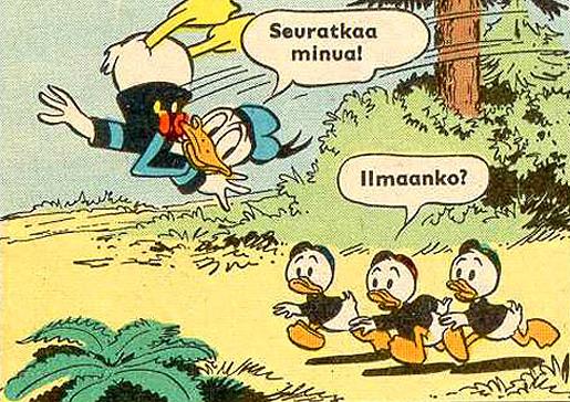 Aku Ankka 60-vuotta Suomessa.