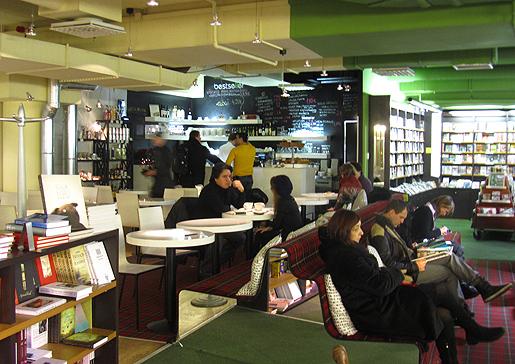 Viru-keskuksen kirjakauppa 2011.