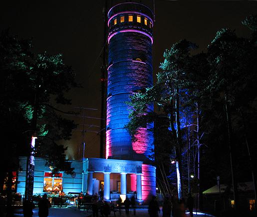 Pyynikin näkötorni, tammikuu 2012.
