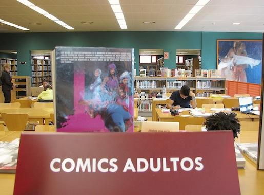 Benalmádenan kirjasto helmikuu 2012
