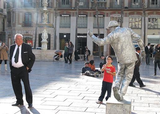 Malaga, helmikuu 2012