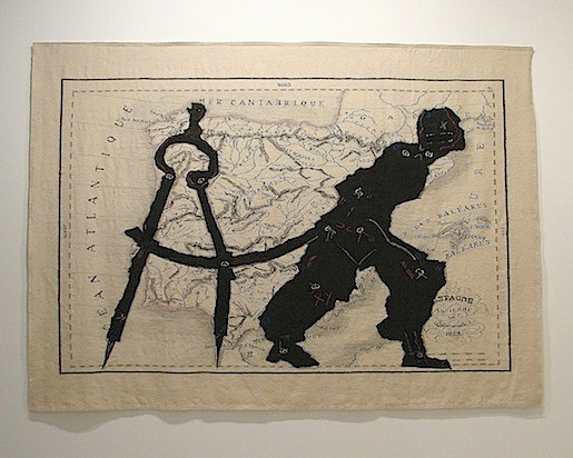 William Kentridge, Malaga, helmikuu 2012.