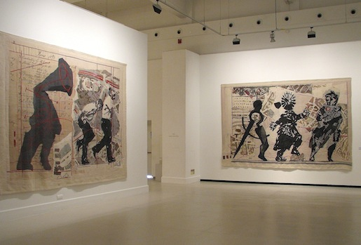 William Kentridge, helmikuu 2012, Malaga