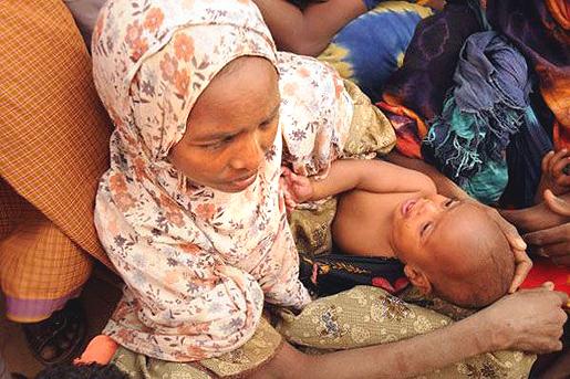Dadaabin pakolaisleiri. Kuva: World Food Programme.