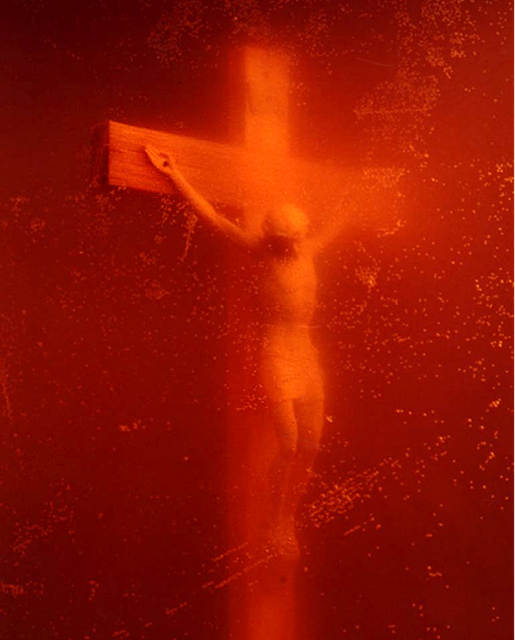 Anders Serrano, Piss Christ.