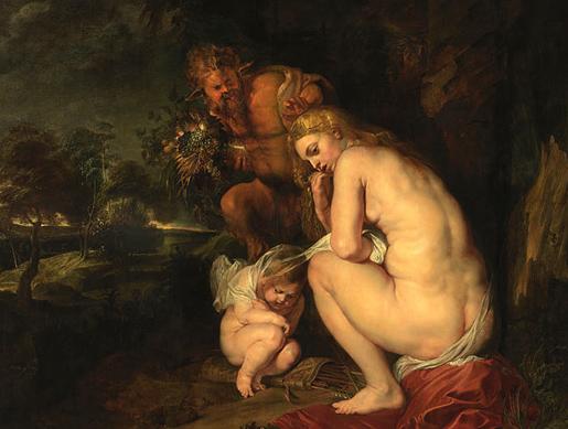 P.P. Rubens: Venus Frigida 1614.