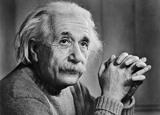 Albert Einstein 1879 - 1955.