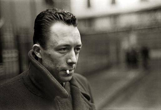 Albert Camus (1913-1960) Kuva Henri Cartier-Bresson.