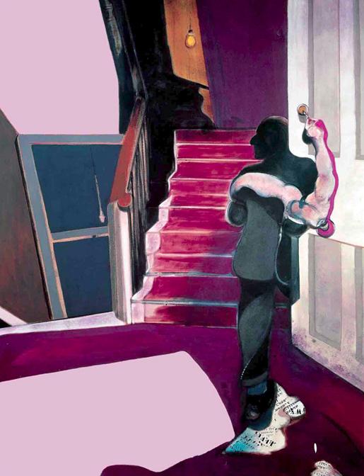 Francis Bacon: Triptyykistä George Dyerin muistolle. (1971)
