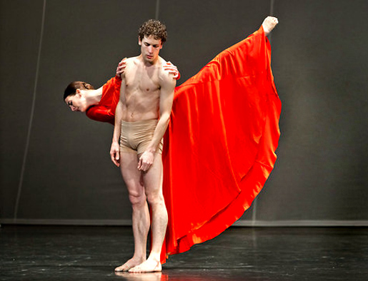 Orpheus ja Eyridike, Pariisin Oopperan baletti 2012. Kuva Agathe Poupeney.