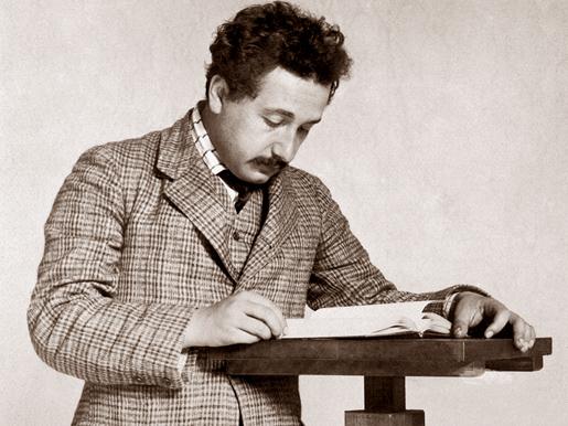 Albert Einstein, kuva Artwallpapers.com