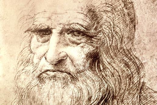 Leonardo da Vinci, oletettu omakuva.