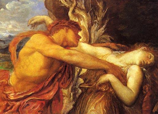 Orpheus ja Eyridike. George Frederic Watts, 1869