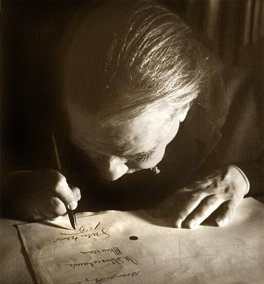 Jorge Luis Borges 1963.