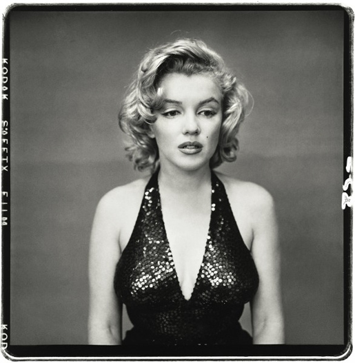 Marilyn Monroe, kuva Richard Avedon.