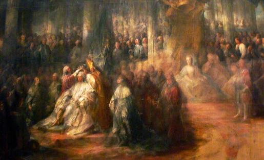 C.G. Pilo, Kustaa III:n kruunaus, 1772
