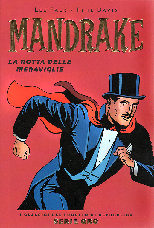 Mandrake, Taika-Jim. Sarjakuva syntyi Lee Falkin kynästä 1934.