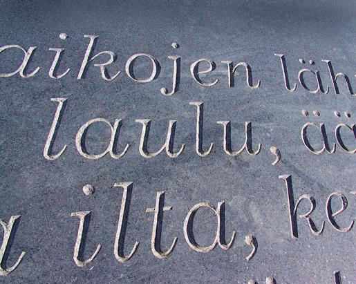 Kivikirjasto, Tampere. Kuvanveistäjä Radoslaw Gryta, 2002.