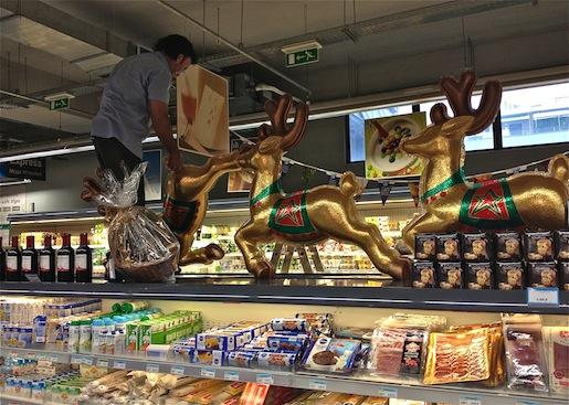 AB, myymälä, Ateena 21.11.2012