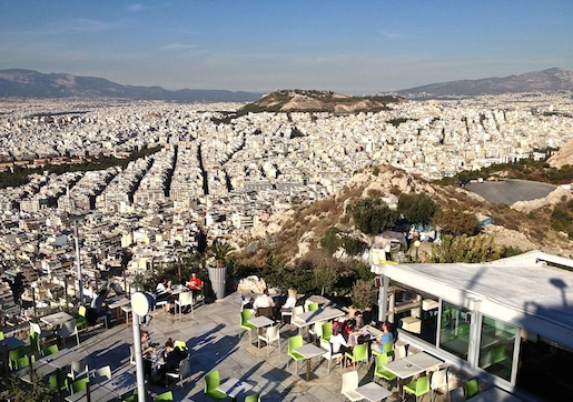 Lycabettus, Ateena 15.11.2012