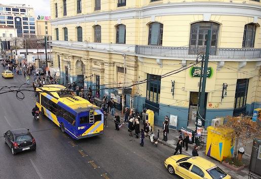 Pireus, metroasema 18.11.2012