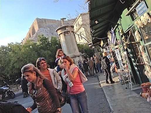 Ateena, Plaka 25.11.2012