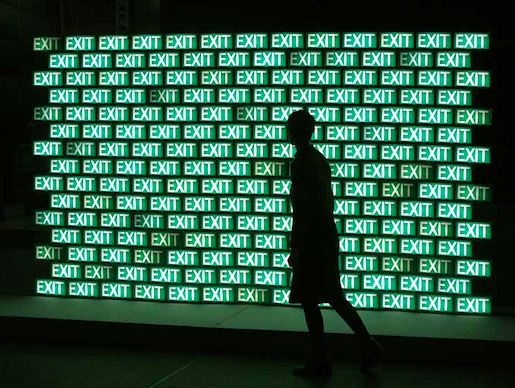 Cecile Colle & Ralf Nuhn: Exit-Wall (2010)