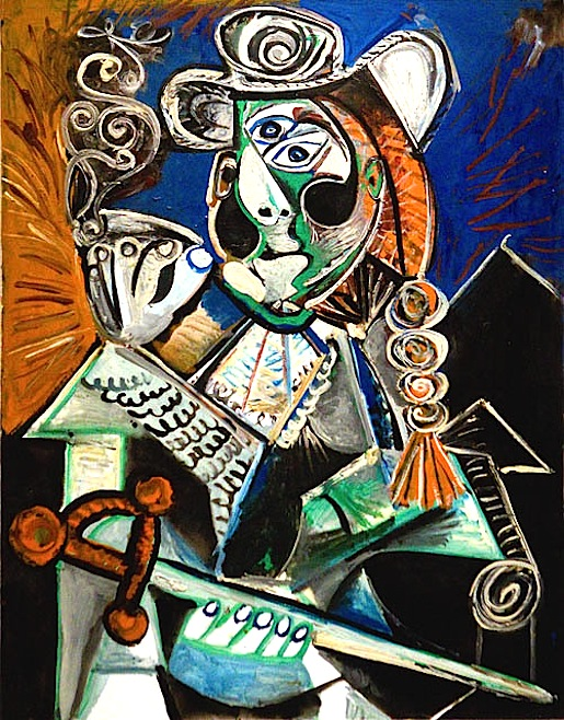Picasso: Le Matador Mougins 1970.