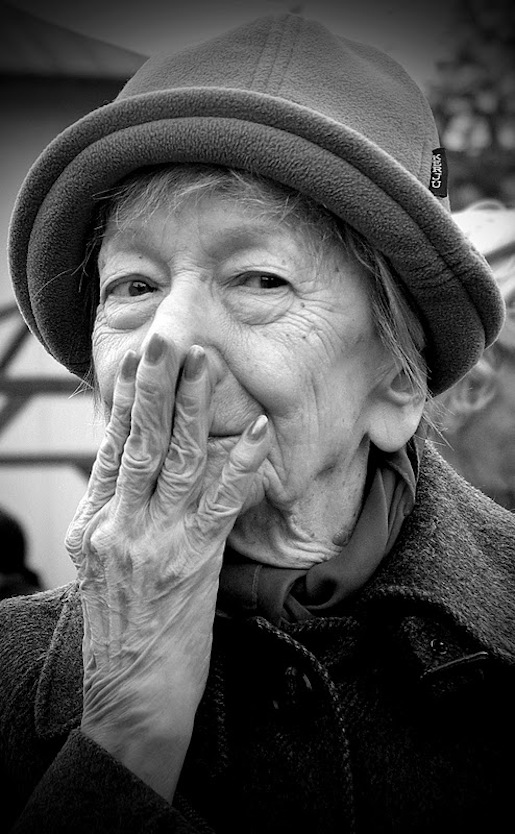 Wislawa Szymborska, kuva Andrzej Banaś.