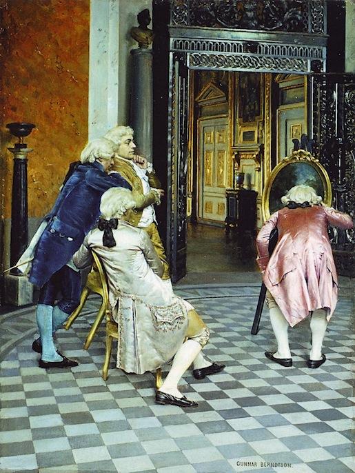Gunnar Berndtson: Taiteentuntijoita Louvressa (1879)