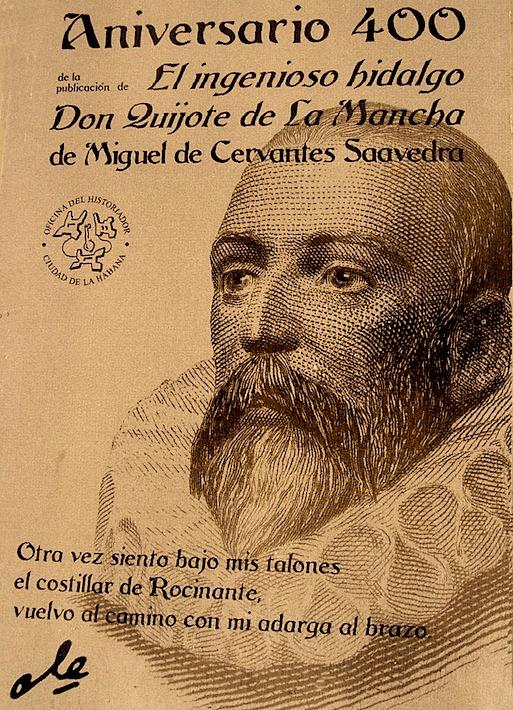 Miguel Cervantes, kuva: Wikimedia Commons