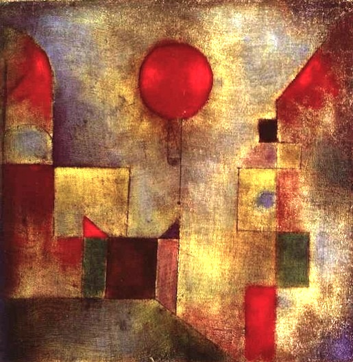 Paul Klee: Red Balloon (1922)