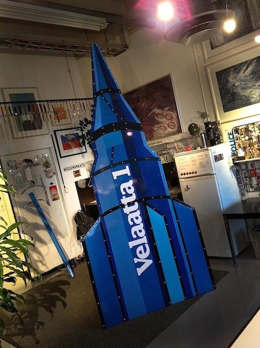 Velaatan avaruuskeskus, kantoraketti Velaatta 1.