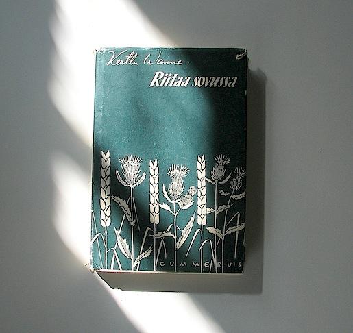 Kerttu Wanne, Riitaa sovussa (Gummerus 1947)
