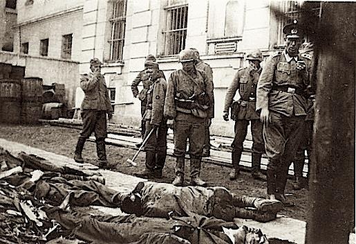 Tarnopol, Puola, heinäkuu 1941.
