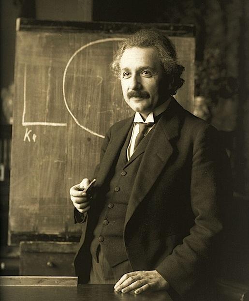 Einstein 1921, Vien. (Ferdinand Schmutzerin arkisto)