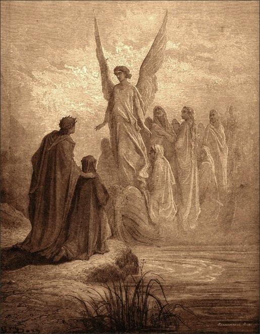 Gustave Dorén kuvitusta Danten Jumalaiseen näytelmään.